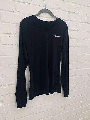 Nike Pro Men's Long Sleeve. Black. Size L