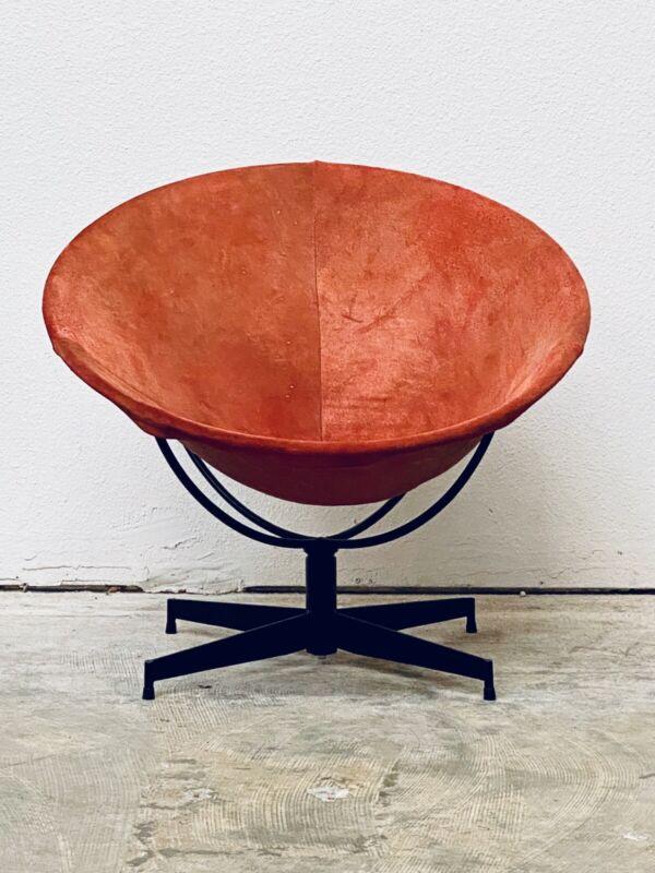 Rare Mid Century Modern William Katavolos Bucket Chair