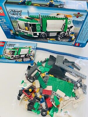 LEGO CITY Garbage Truck #4432 EUC BOX MANUAL