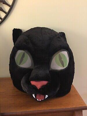 Dan Dee Maskimals Black Cat Head Cosplay Mask Plush Costume