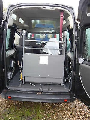 VEHICLE PORTARAMP CLEARVIEW WHEELCHAIR  MOBILITY RAMP, WINCH BELTS & FITTINGS