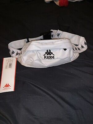 Kappa 222 Banda Anais Fanny Pack Size Small White