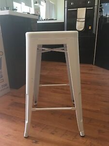 White stool Broadmeadow Newcastle Area Preview