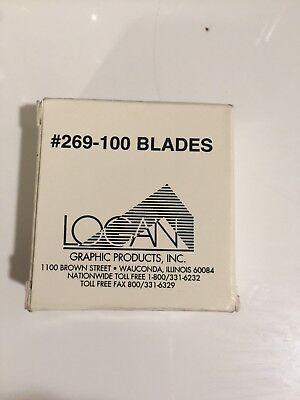 Logan Graphic 269-100 Replacement Blade for Framer's Edge 100-Pack (Logan Framers Edge)