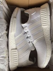Triple white nmd r1 size 11 deadstock