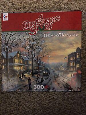 Ceaco 300 Piece Puzzle-A Christmas Story by Thomas Kinkade