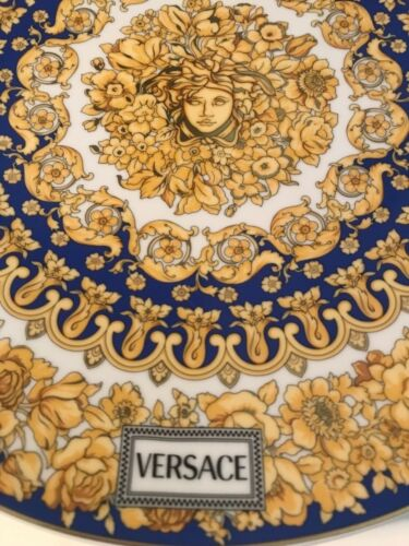 "VERSACE MEDUSA CHARGER PLATE 13"" ROSENTHAL  NEW DESIGN ORIGINAL SALE"