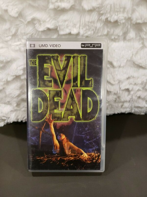 The Evil Dead (UMD, 2005) PSP Rare! HTF