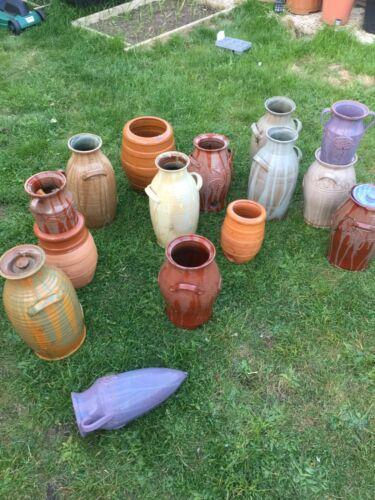 Terracotta Pottery Vase / Vaze or Decorative Object Flowers Display Planting POT