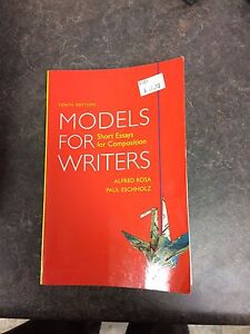 Models for Writers Textbook