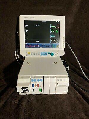 Ge Datex Ohmeda S5 S5 Anesthesia Monitor W E-caio E-prestn E-rec 15 Display