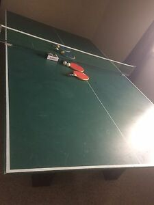 Pool table and table tennis