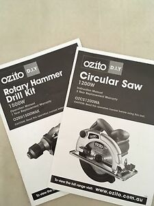Assorted Ozito Power tools Centennial Park Eastern Suburbs Preview