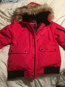 Goose down winter jacket