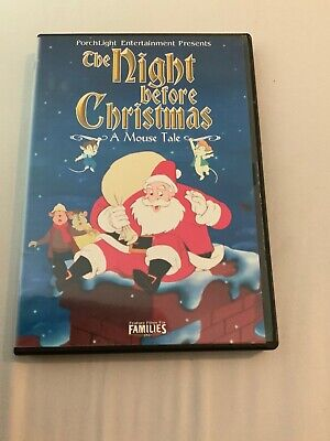 The Night Before Christmas - A Mouse Tale (DVD,