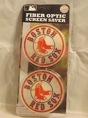 Sox Fiber - Team Sports America Fiber Optic Screen Saver - Boston Red Sox