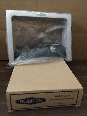 Bobrick B 273 Toilet paper Tissue Dispenser for Single Roll theft-resistant key