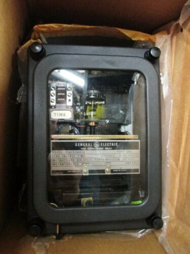 General Electric 12IAC53A803A Time Overcurrent Relay 60HZ