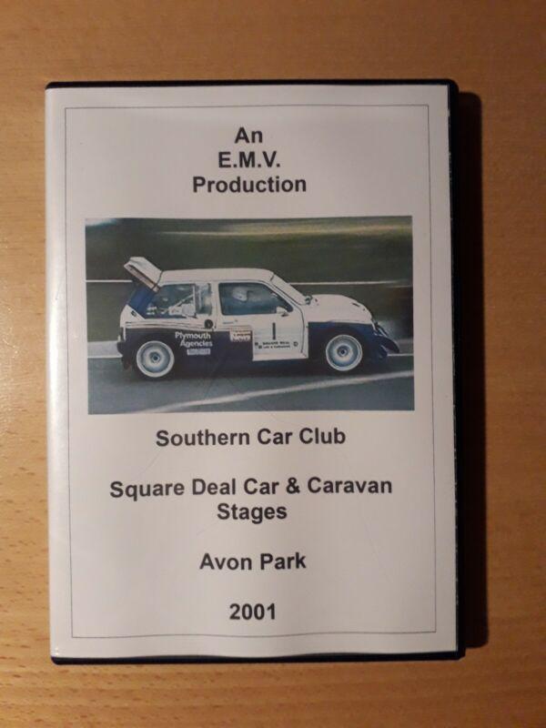 2001+Square+Deal+Car+%26+Caravan+Stages+Rally+DVD+Avon+Park+Southern+Car+Club+