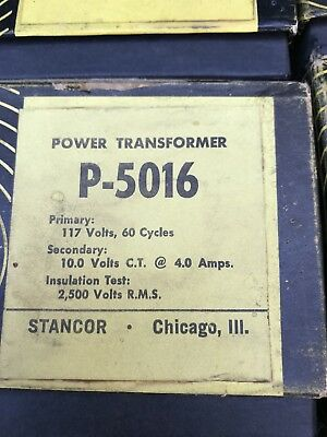 Stancor P-5016 Power Transformer B11