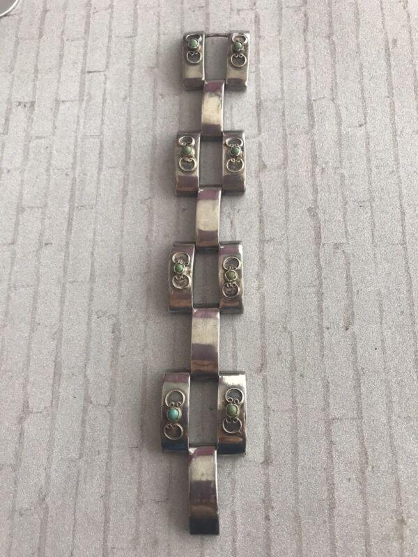 Vintage Taxco Mexico Sterling Silver Bracelet 41.9 grams