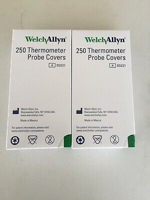 500 Welch Allyn Probe Covers Oem Suretemp Spot Vital Thermometer 05031