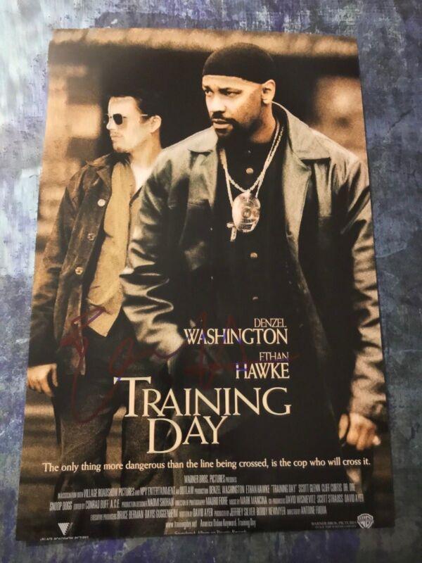 GFA Training Day Movie * ETHAN HAWKE * Signed Autographed 12x18 Photo Poster COA