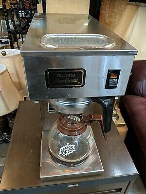 Bunn Commercial Coffee Pot Machine Pour O Matic