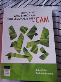 Essentials of Law, Ethics and professional issues for CAM