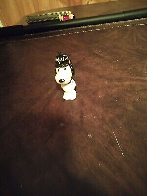 Vintage Snoopy Peanuts Ceramic Christmas Tree Ornament 1965 Japan