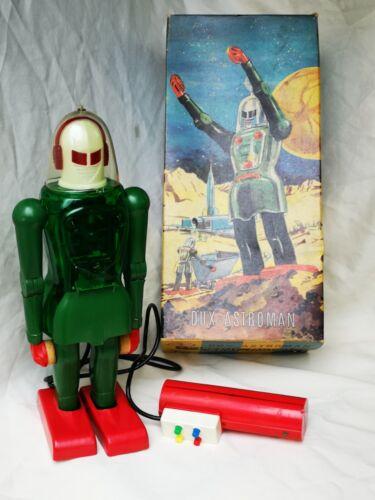 Dux Astroman no. 150 Robot Tin Toy Blechspielzeug Boxed Rare !!!