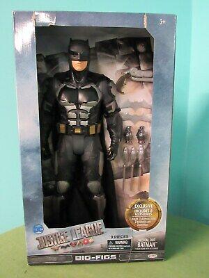 JAKKS DC Justice League Batman Big Figs Armored Action Figure Tactical Suit