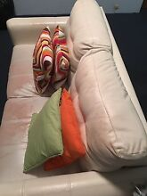 Lounge sofa with 4 throwback pillows Dee Why Manly Area Preview
