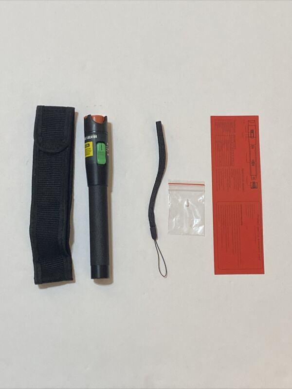 Visual Fault Locator 30mW 30KM Fiber Optic Cable Tester With Case