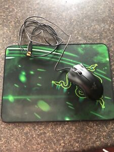 Razer mouse and pad