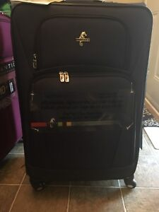 """Atlantic 28"""" inch upright four wheeled luggage"""