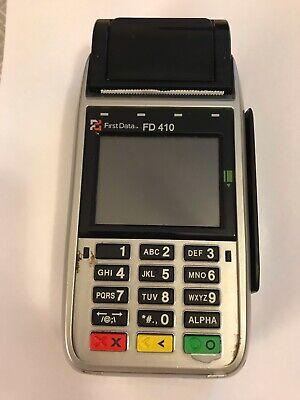 First Data Fd-410 Wireless Credit Card Machine