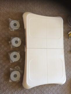 Wii console & Wii-fit bundle