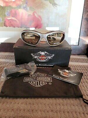 Harley-Davidson® Men's Performance Glide Day-Night Eyewear Silver (Harley Sunglasses Day Night)