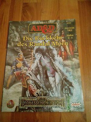 VR3 DIE RÜCKKEHR DES RANDAL MORN ADVANCED DUNGEONS & DRAGONS AD&D OVP FOLIE