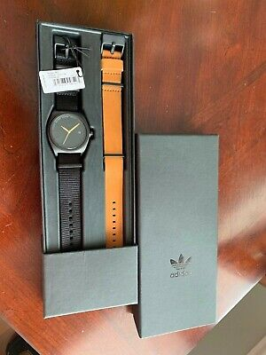 Adidas Watch Process_PK2 NATO Premium Horween Leather & NATO Nylon Straps