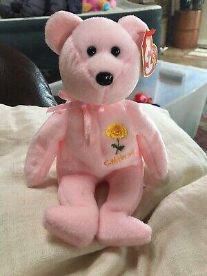 TY Beanie Baby California Poppy