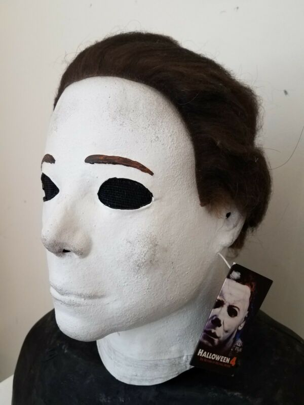 The Return of Micheal Myers Deluxe Latex Mask Halloween 4 Trick or Treat Horror