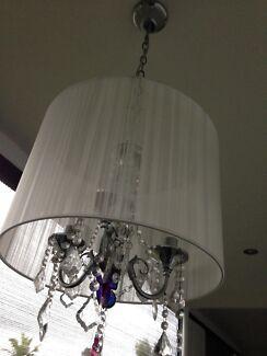 Chandelier white for ceiling