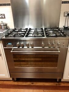 Delonghi 90cm gas hob/electric oven for sale