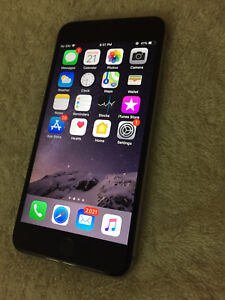 Space Grey IPhone 6S Plus 32GB (Bell/MTS)