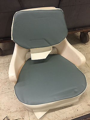 2001 Bayliner Boat Heavy Duty Captains Pilot Chair new upholstery  for sale  Pittsburgh