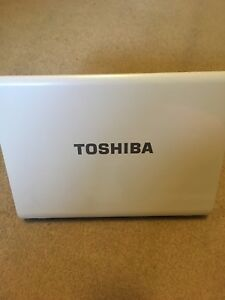 Toshiba Laptop with DVD drive and charging cable