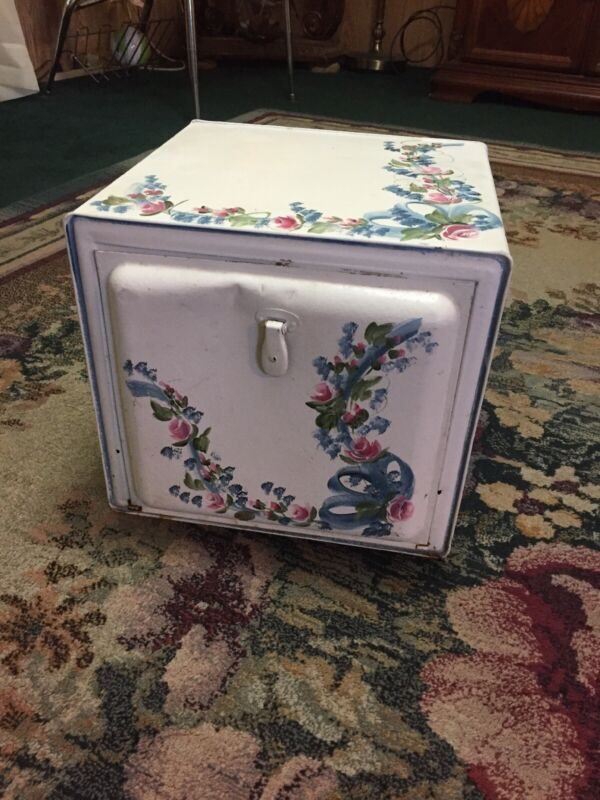 Antique Early Decorative Breadbox