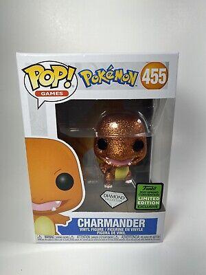 Funko POP! Pokémon Charmander Diamond Collection 2021 Spring Convention LE